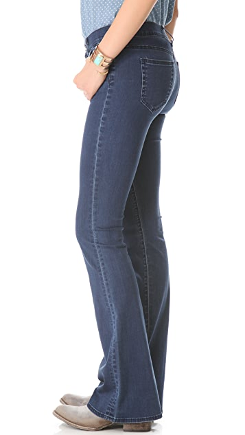 KORAL Mid Rise Flare Jeans