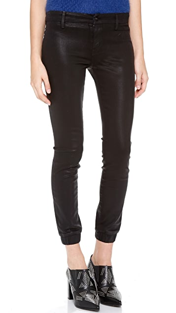 KORAL Slouchy Simple Coated Jeans