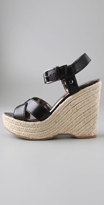 KORS Michael Kors Violet Wedge Sandals