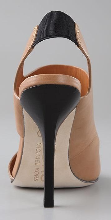 KORS Michael Kors Royal Two Band Sandals