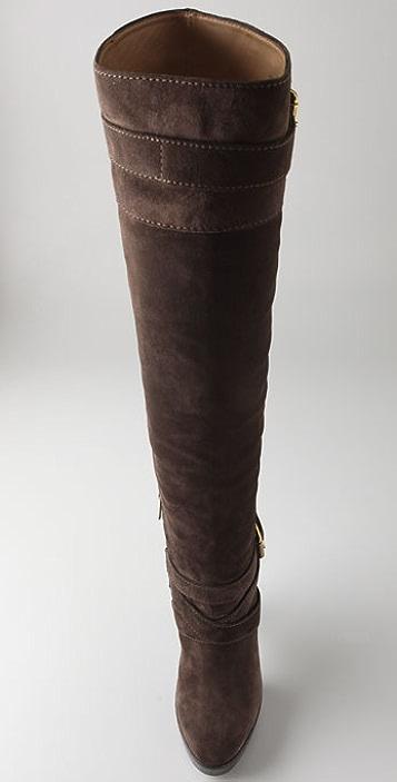 KORS Michael Kors Zanzia Suede Over the Knee Boots