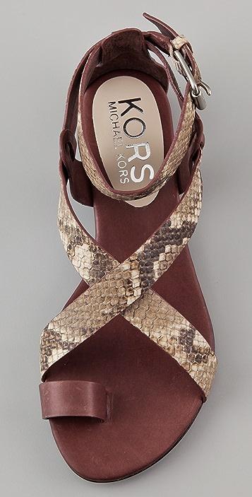 KORS Michael Kors Zeehan Flat Sandals