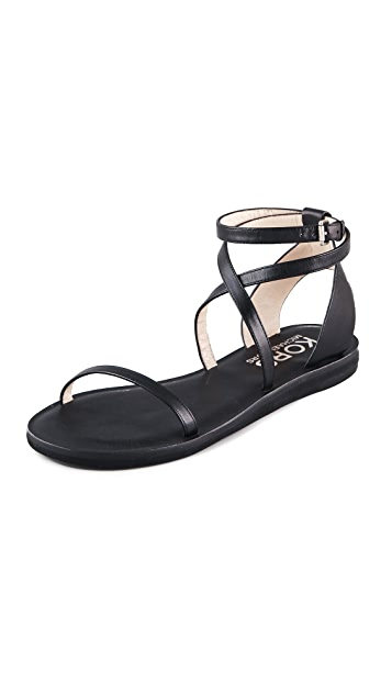 KORS Michael Kors Rosemary Ankle Wrap Sandals