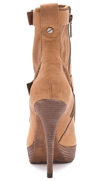 KORS Michael Kors Creston Wallabee Booties