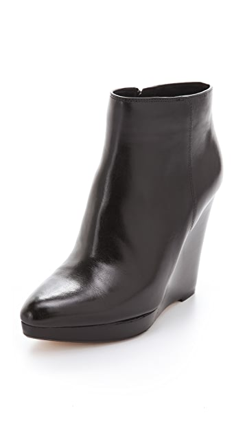 KORS Michael Kors Shailyn Wedge Booties