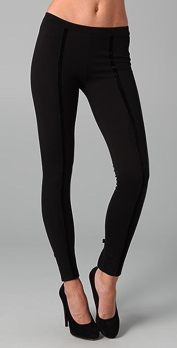 Kova & T Black Tie Leggings