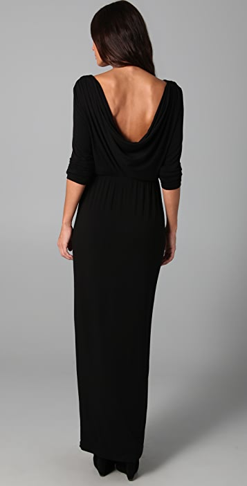 Kova & T Sexy Back Maxi Dress