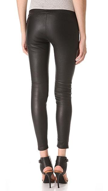 Kova & T Vine Leather Leggings