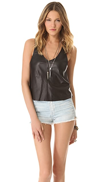 Kova & T Vine Leather Tank