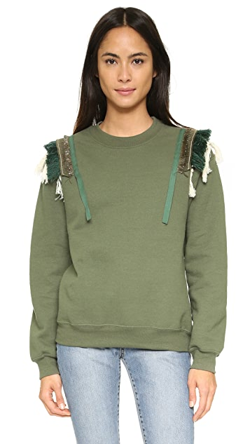KOZA Fringe Sweatshirt