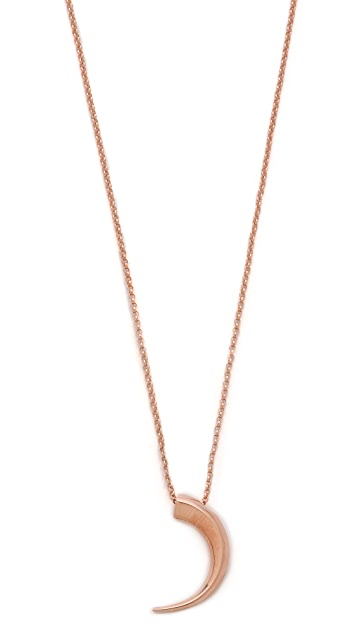 Katie Rowland Mini Talon Pendant Necklace