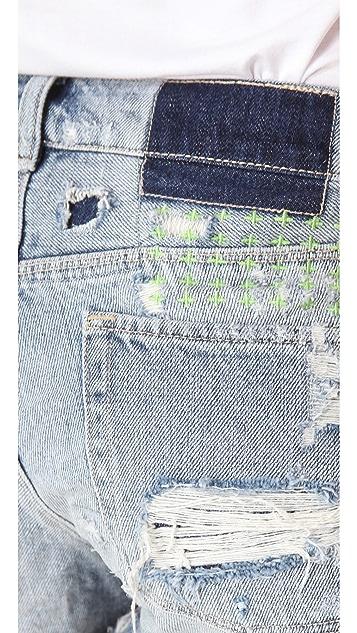 Ksubi Albuquerque Cutoff Shorts