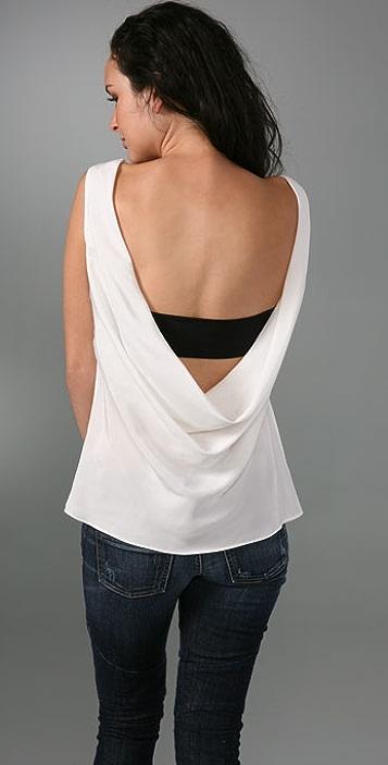 Kimberly Taylor Drape Back Top