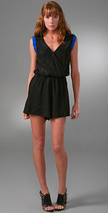 Kimberly Taylor Braided Romper