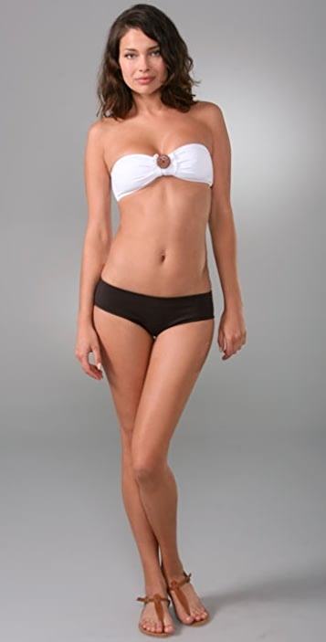With you Kushcush wallflower bandeau bikini