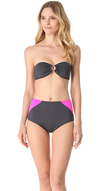 Kushcush Maddie Bandeau Bikini Top