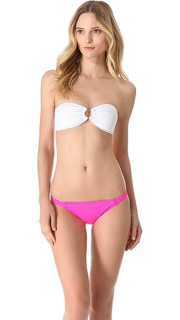 Kushcush Chloe Bandeau Bikini Top