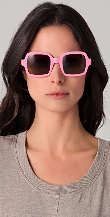 Karen Walker Cabbie Sunglasses