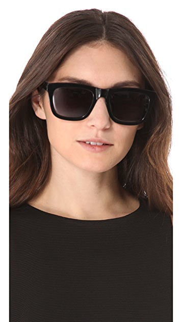 5c61375cb7f Karen Walker Deep Freeze Sunglasses  Karen Walker Deep Freeze Sunglasses ...