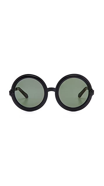 Karen Walker Peek-A-Boo Filigree Sunglasses
