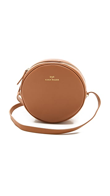 Karen Walker Benah for Karen Walker Marion Mini Round Bag
