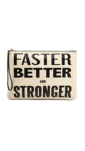 87755f24f97 Karen Walker Faster Better and Stronger Clutch