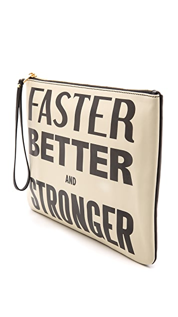 Karen Walker Faster Better and Stronger Clutch