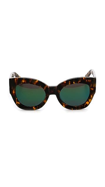 Karen Walker Superstars Collection Northern Lights Mirrored Sunglasses