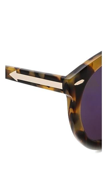 83ae36d878a ... Karen Walker Superstars Collection Super Duper Strength Mirrored  Sunglasses