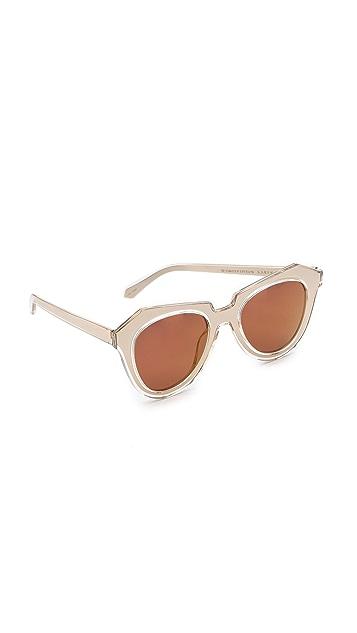 Karen Walker Number One Mirrored Sunglasses