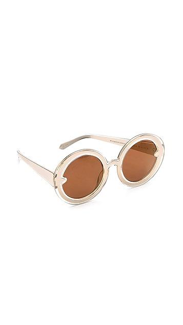 61474f1da22 Karen Walker Orbit Filagree Mirrored Sunglasses
