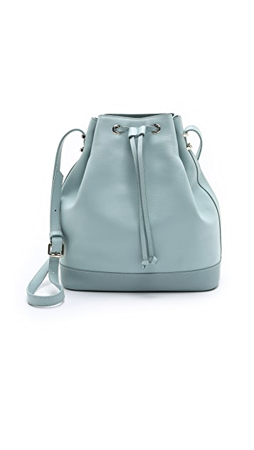 Karen Walker Benah for Karen Walker Enid Drawstring Bucket Bag