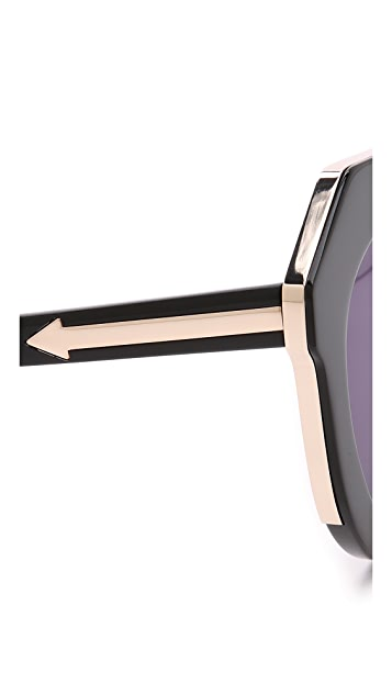 39d8c5e4f682 ... Karen Walker One Meadow Sunglasses