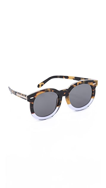 Karen Walker Super Duper Thistle Sunglasses