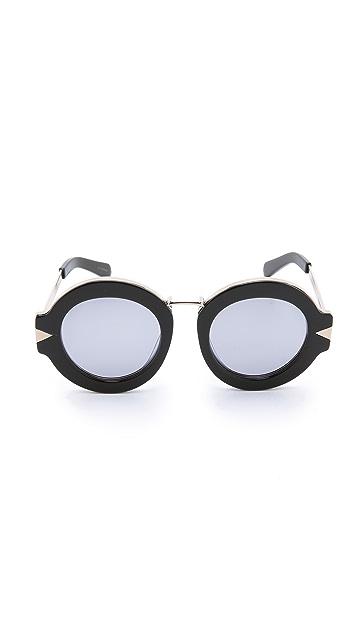 Karen Walker Superstars Maze Sunglasses