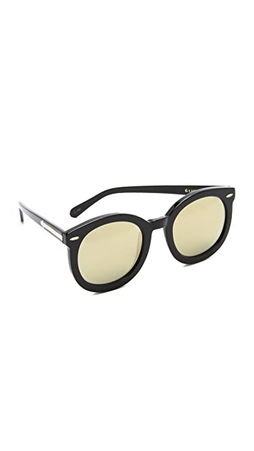 f9858ca16604 Karen Walker Superstars Super Duper Strength Sunglasses