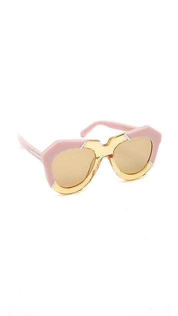 Karen Walker One Splash Sunglasses