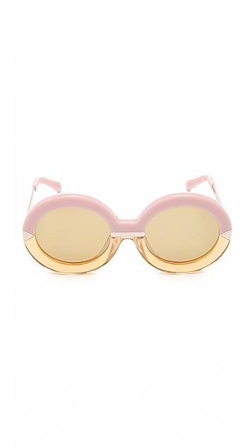 Karen Walker Солнцезащитные очки Hollywood для бассейна