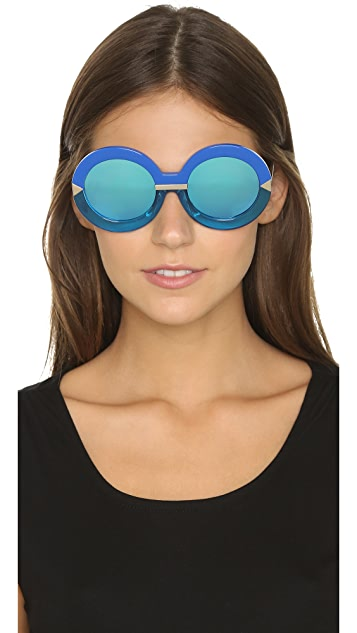 Karen Walker Hollywood Pool Sunglasses
