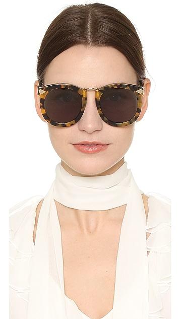 Karen Walker Super Lunar Sunglasses