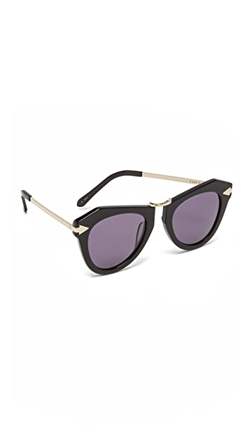 Karen Walker One Orbit Sunglasses