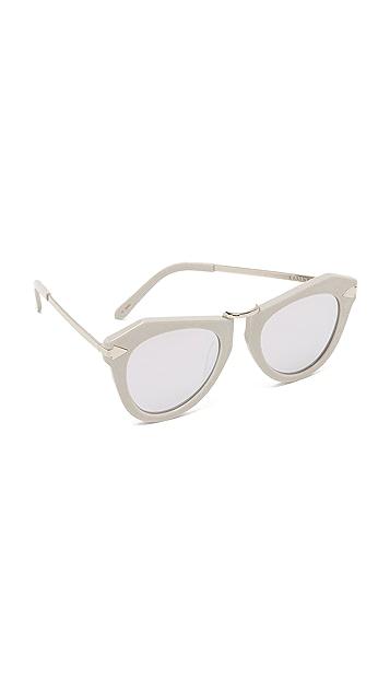 3a30267bd85 Karen Walker One Orbit Sunglasses