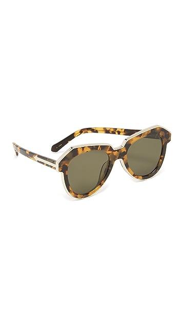 b956e9d414c Karen Walker One Astronaut Flat Lens Sunglasses