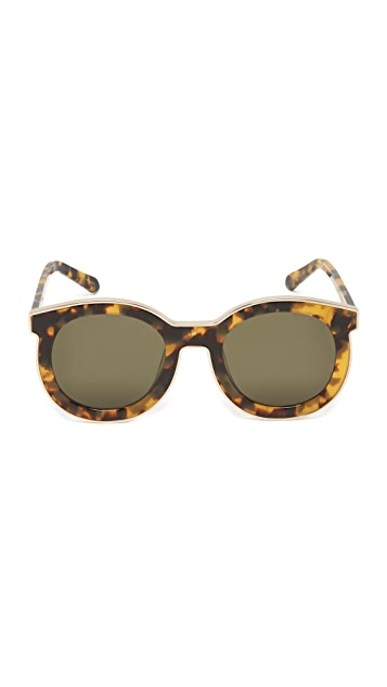 Karen Walker Super Spaceship Flat Lens Sunglasses