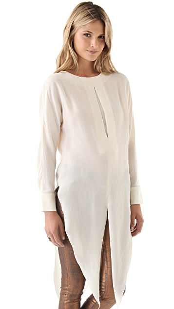 Kelly Wearstler Sinead Drape Hem Top