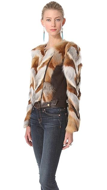 Kelly Wearstler Winston Fox Chevron Jacket