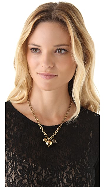 Kelly Wearstler Mixed Sphere Trio Necklace