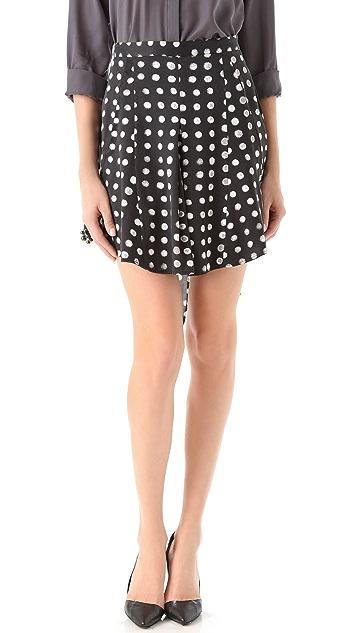 Kelly Wearstler Nautilus Print Skirt
