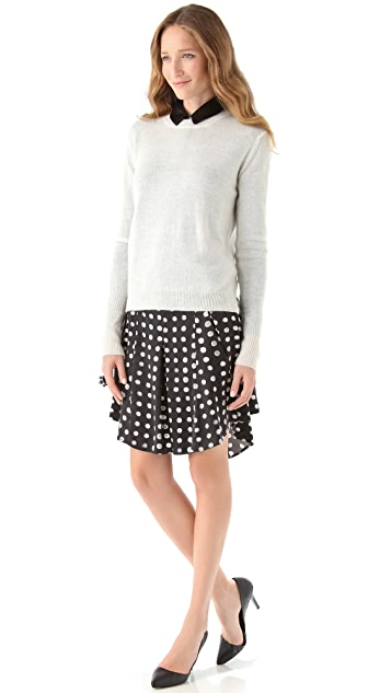 Kelly Wearstler Nautilus Print Skirt