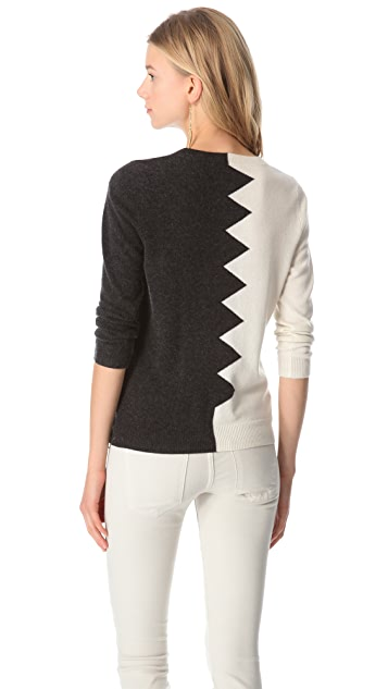 Kelly Wearstler Zigzag Sweater